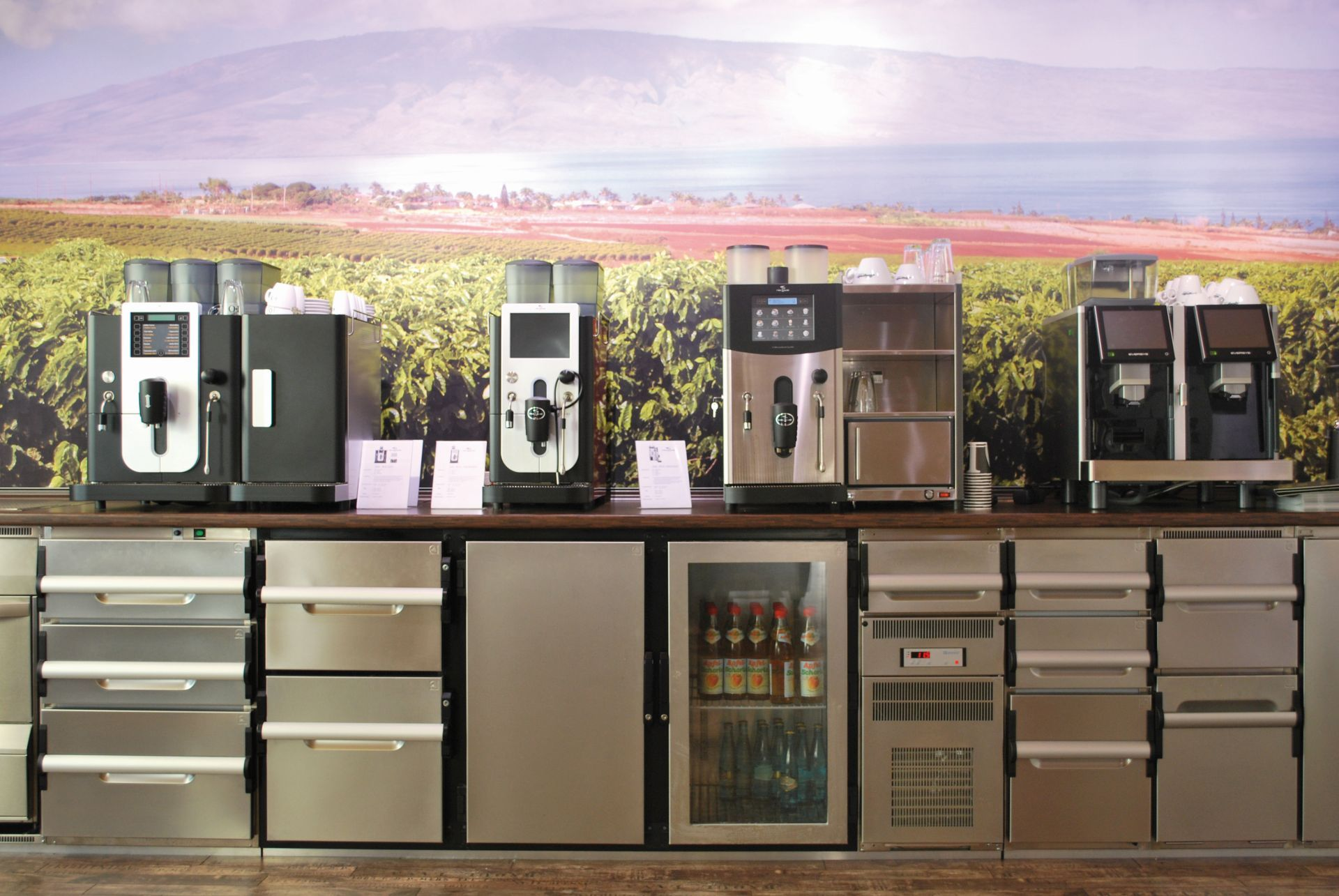 New Gastroline Kaffeemaschinenausstellung