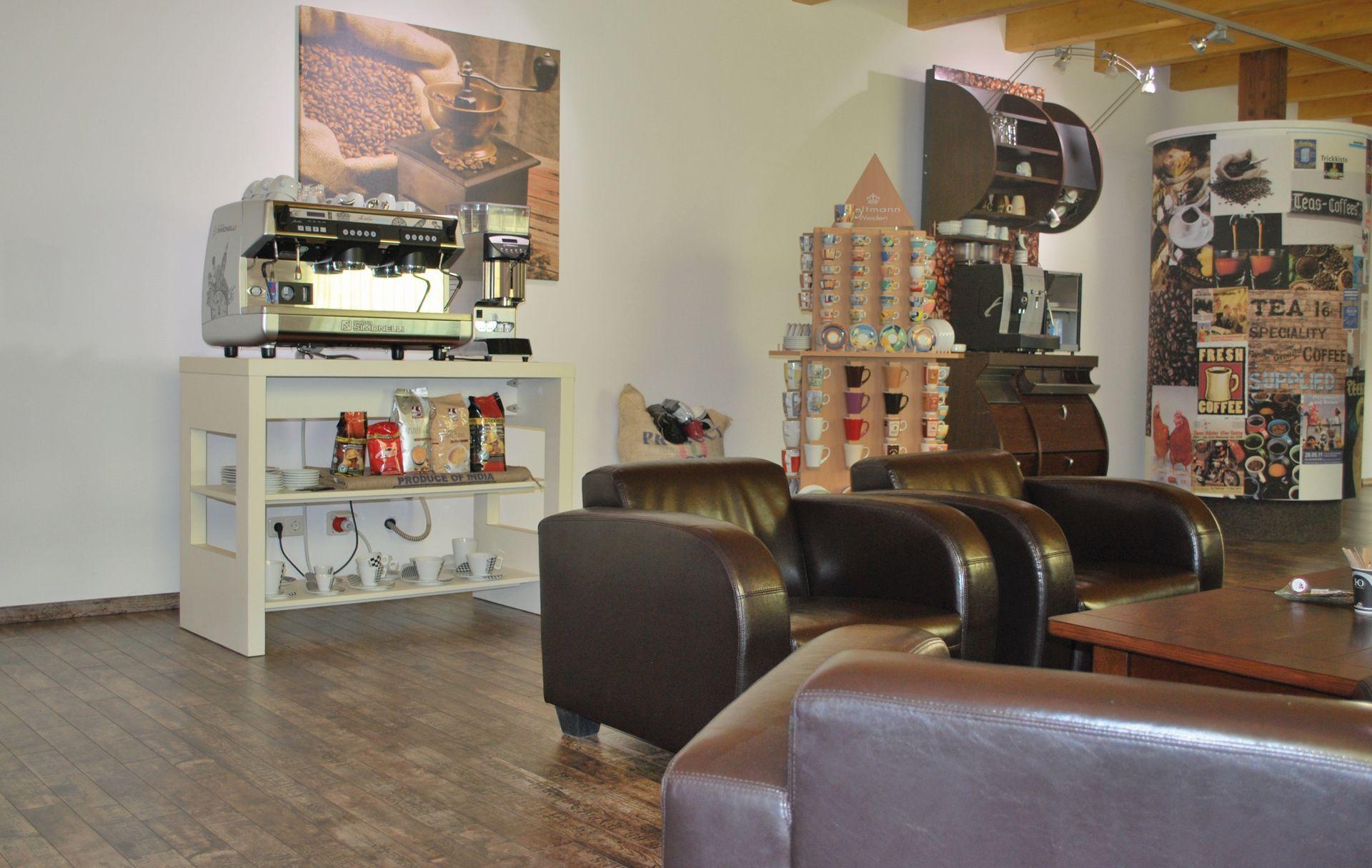 New Gastroline Kaffeevollautomaten Ausstellung
