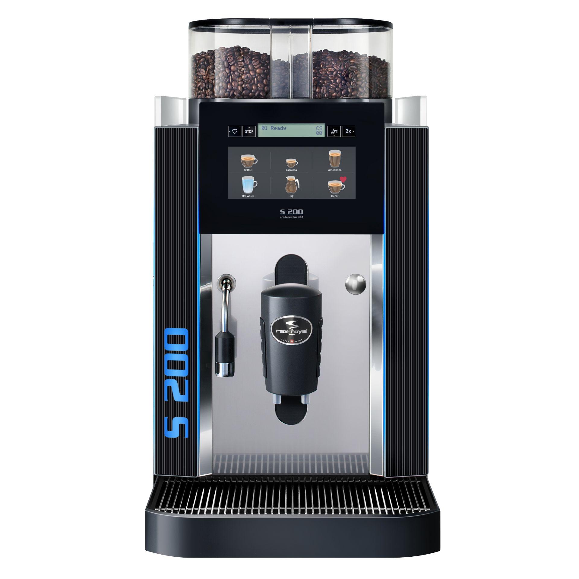 Rex Royal Kaffeevollautomat S200 CT