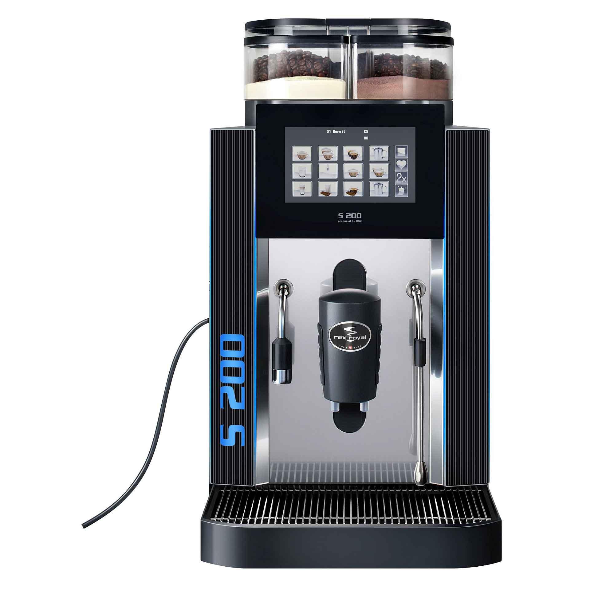 Rex Royal Kaffeevollautomat S200 MCSTI