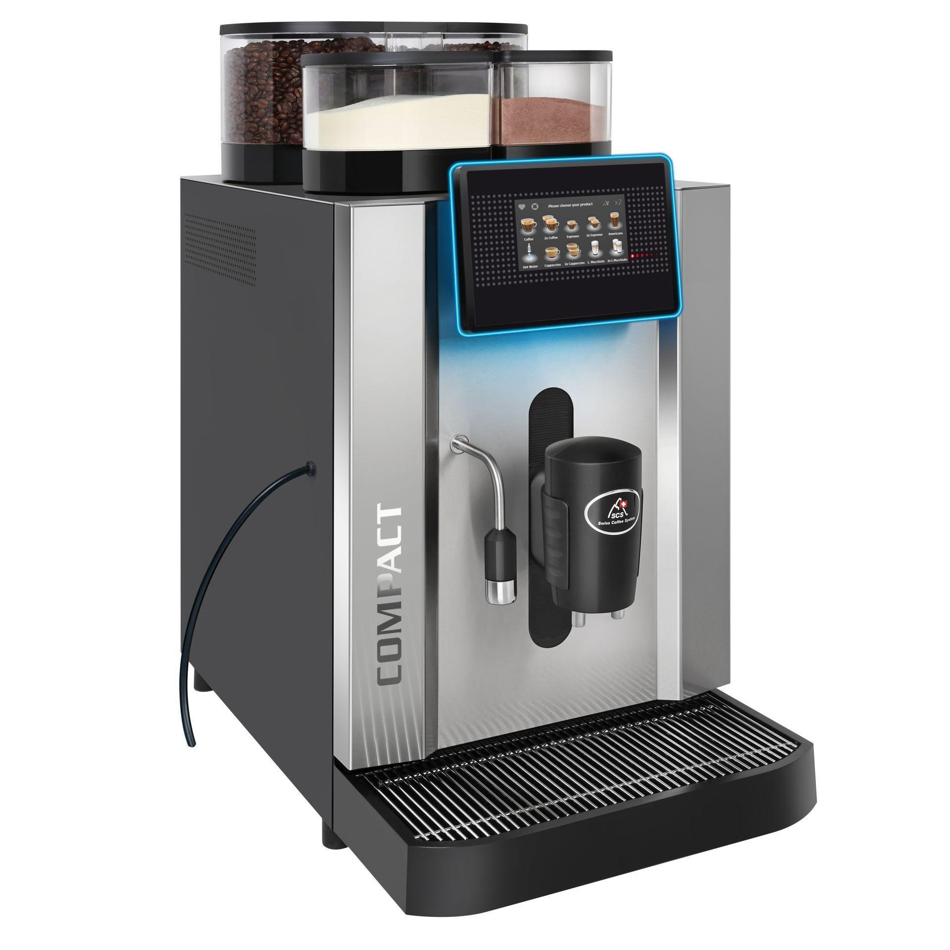 SCS Kaffeevollautomat Compact CTI Seite