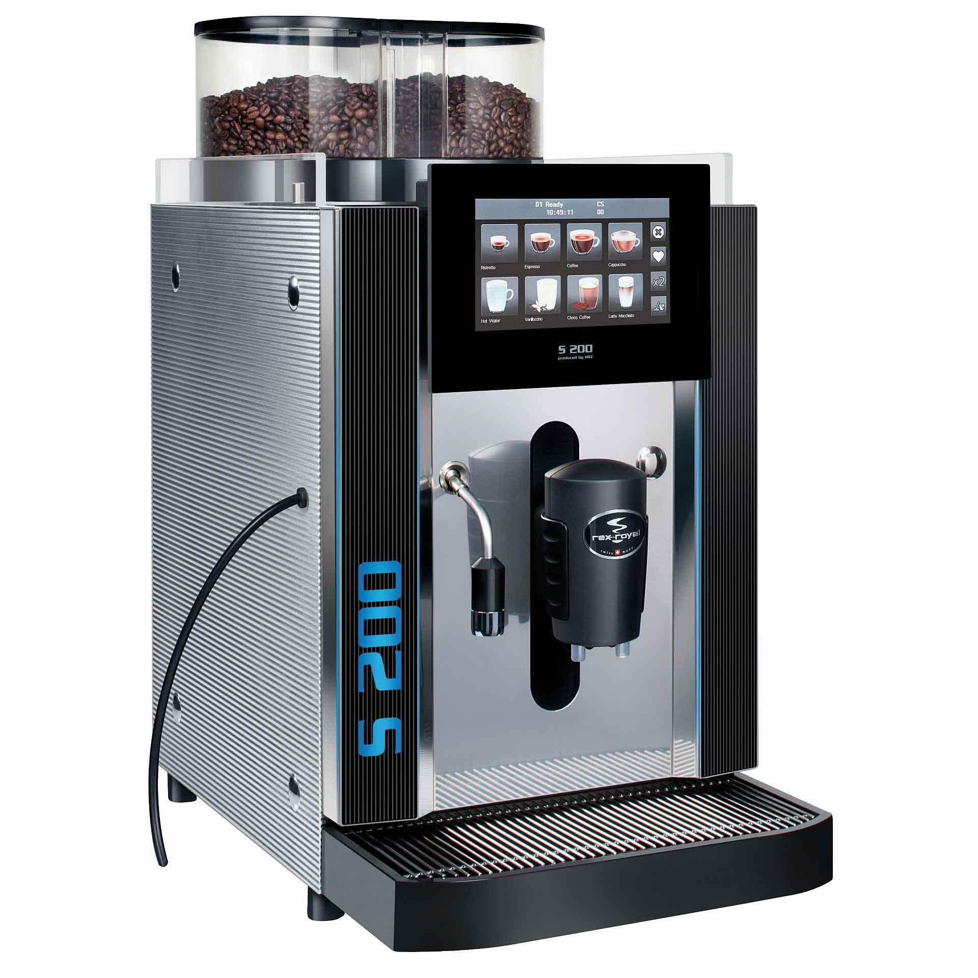 Rex Royal Kaffeevollautomat S200 MCT Seite
