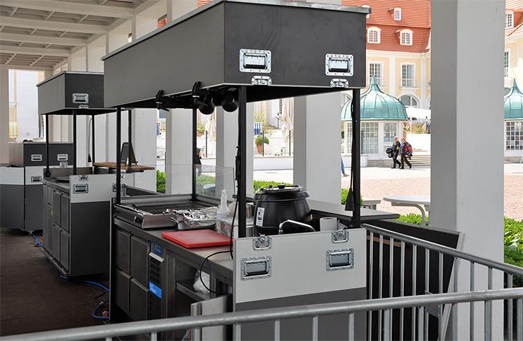 Mobile Gastro-Stände für das Ostseebad Binz (Foto: René Reichel)
